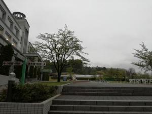 東北文化学園大学中庭