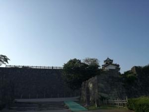 小峰城と石垣