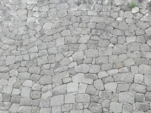 小峰城の石垣