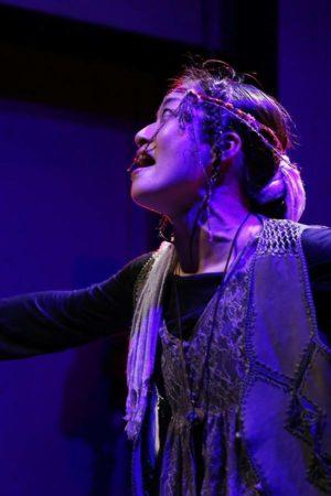 ソロ公演『わたしはあなた、あなたはわたし』ジプシー/11役 Photo / Nobuyuki Aoki