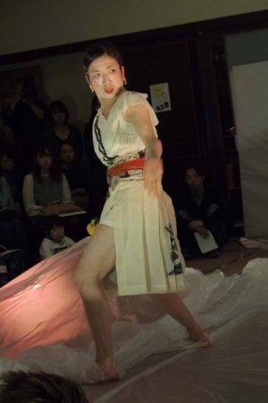 古代文字・ピアノ・ダンスコラボレーション企画『藝〜The power of origin』@ 日暮里天王寺 Photo / Nobuyuki Aoki