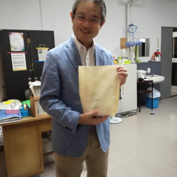 岩本先生、おめでとうございます。