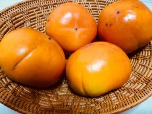 ゴマ入り柿 persimmons