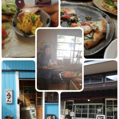森ぱんとランチのピザ