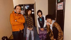 稽古場に戻って。photo by くぼかん