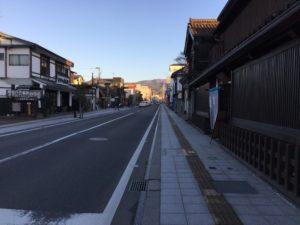古い町並みが素敵な会津城下町