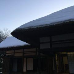 会津武家屋敷の茶室