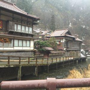"""国の登録有形文化財にもなっている、老舗旅館""""向瀧"""""""