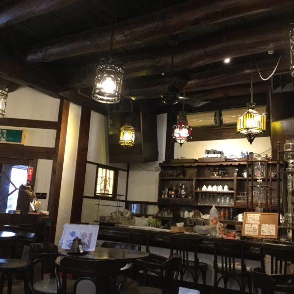會津壱番館カウンター