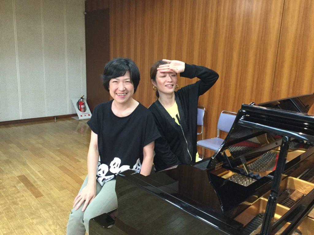 ピアニストのミキちゃんと