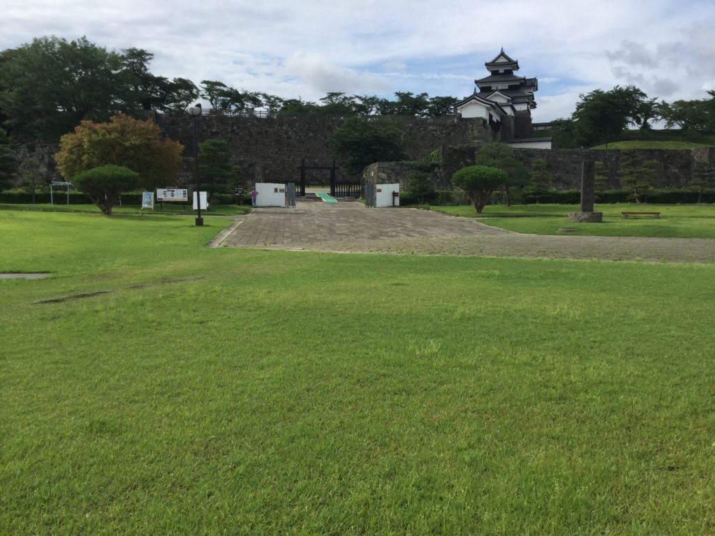 小峰城二の丸