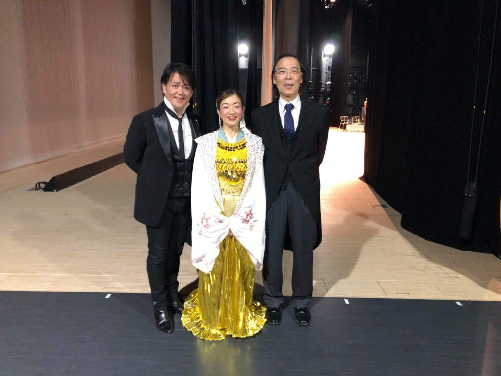 中鉢さん、志賀野さんと終演後。